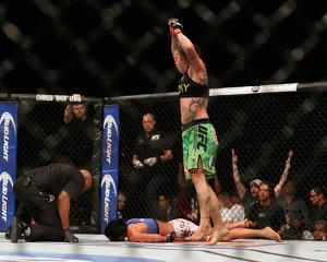 UFC 181 - Pennington v Evans-Smith by Josh Hedges/Zuffa LLC