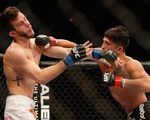 UFC 181 - Pettis v Hobar by Josh Hedges/Zuffa LLC