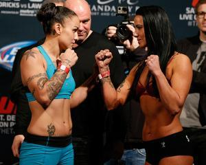 UFC 181 - Weigh-Ins by Josh Hedges/Zuffa LLC