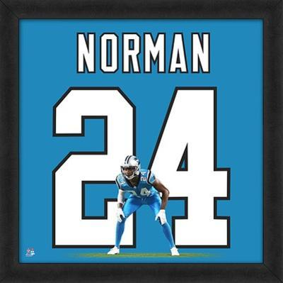 Josh Norman, Carolina Panthers - Framed Photographic Representation Of The Player's Jersey
