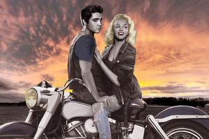 Sunset Ride by Joshua Nelson