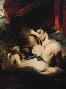 Cupid Untying the Zone of Venus, 1788 by Joshua Reynolds