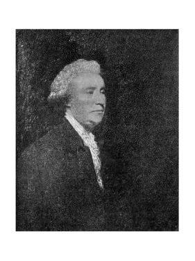 Edmund Burke by Joshua Reynolds