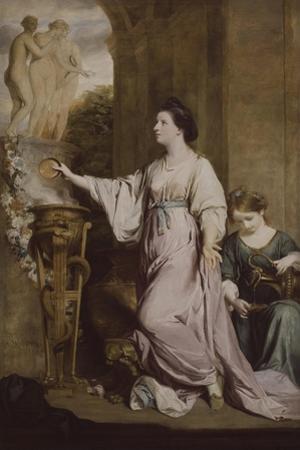 Lady Sarah Bunbury Sacrificing to the Graces, 1763-65