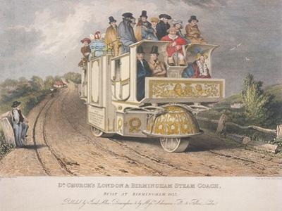 Dr Church's London and Birmingham Steam Coach, 1833