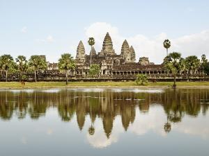 View of Angkor Wat City, Angkor, Cambodia by JoSon