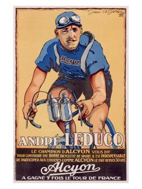 Alyon, Andre Leducq by Josse