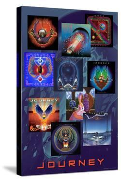 Journey - Album Collage