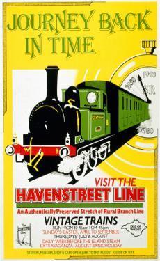 Journey Back in Time, Visit the Havenstreet Line, c.1990