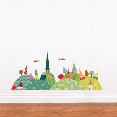 Journey in the Countryside Wall Decal