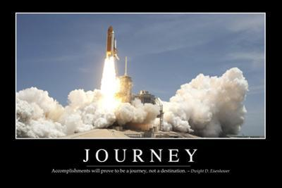 Journey: Inspirational Quote and Motivational Poster