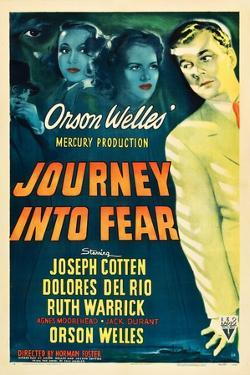 JOURNEY INTO FEAR, Joseph Cotten, Dolores del Rio, Ruth Warrick, Orson Welles, 1943