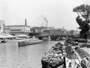 View of the River Spree, Berlin, circa 1910 by Jousset