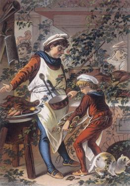 Sleeping Beauty: The Castle Kitchens, Where the Cook is Asleep by Jouvet