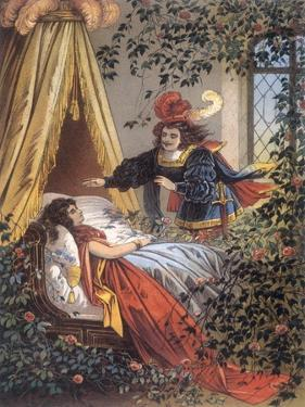 The Prince Discovers the Sleeping Princess by Jouvet