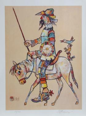 Don Quixote by Jovan Obican