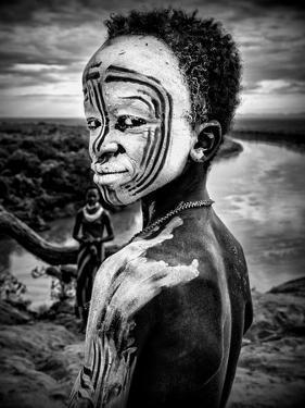 A Boy of the Karo Tribe. Omo Valley (Ethiopia) by Joxe Inazio Kuesta
