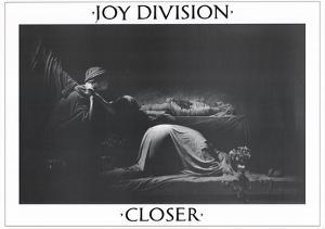 Joy Division Closer Music Poster Ian Curtis