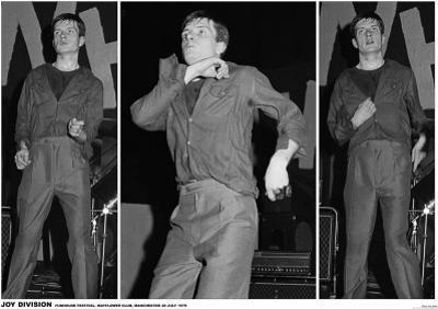 Joy Division-Ian Curtis 3 Pics Manchester 79