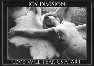Joy Division (Love Will Tear Us Apart) Music Poster Print