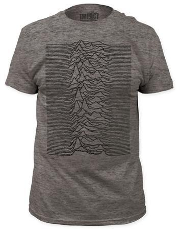 Joy Division - Unknown Pleasures Heather (slim fit)