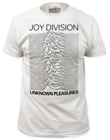 Joy Division - Unknown Pleasures White (slim fit)