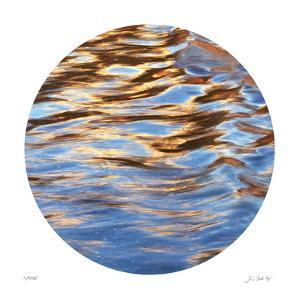Liquid Gold Circle 2 by Joy Doherty