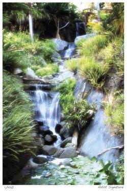 Peaceful Waterfall II by Joy Doherty