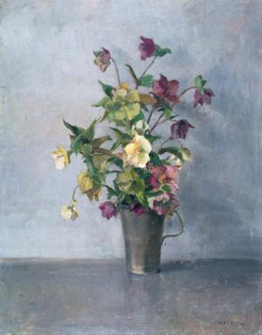 Still life with flowers by Joyce Haddon