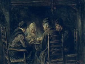 The Potato Eaters, 1902 by Jozef Israels