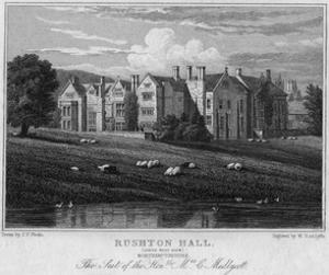 Rushton Hall, Northamptonshire by JP Neale