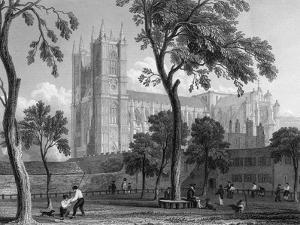 Westminster Abbey by JP Neale