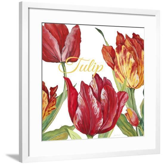 JP2585-Tulip-C-Jean Plout-Framed Giclee Print