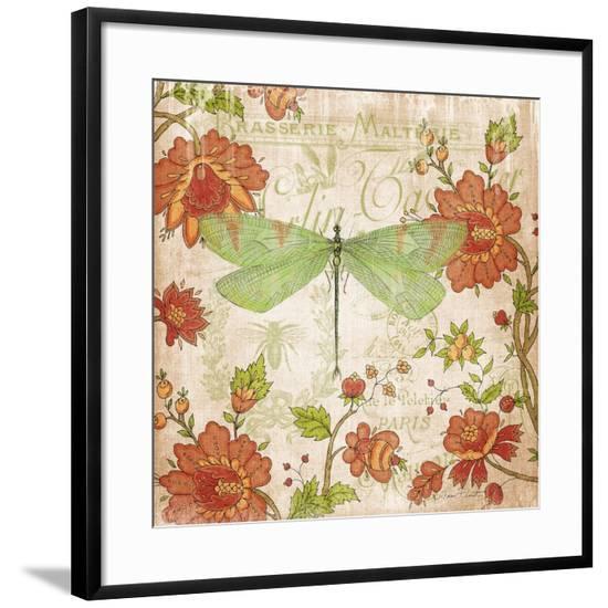 JP3068-Jardin De Luxe-Jean Plout-Framed Giclee Print