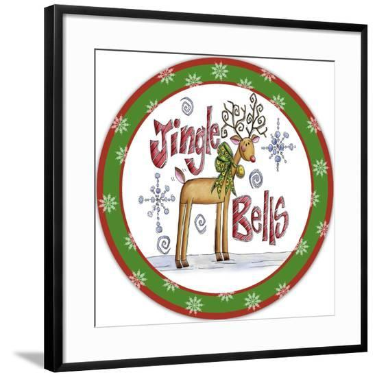 JP3651-Jingle Bells-Jean Plout-Framed Giclee Print