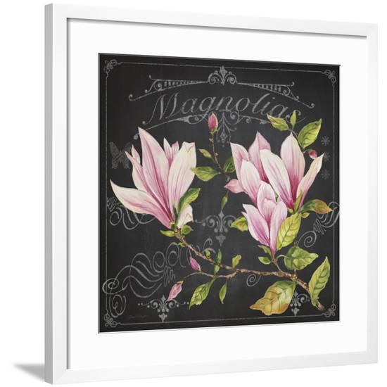 JP3891-Magnolias-Jean Plout-Framed Giclee Print