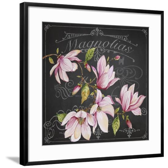 JP3892-Magnolias-Jean Plout-Framed Giclee Print