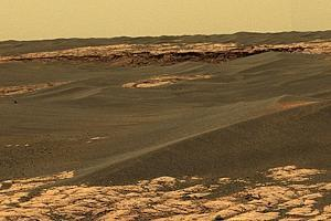 Mars Surface, Opportunity Rover Image by Jpl-caltech