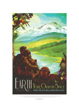 Earth- Your Oasis In Space by JPL