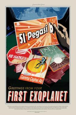 First Exoplanet by JPL