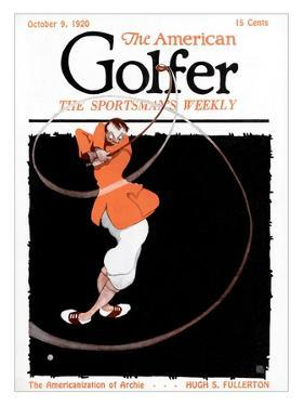 The American Golfer October 1920 by Jr. Adriance