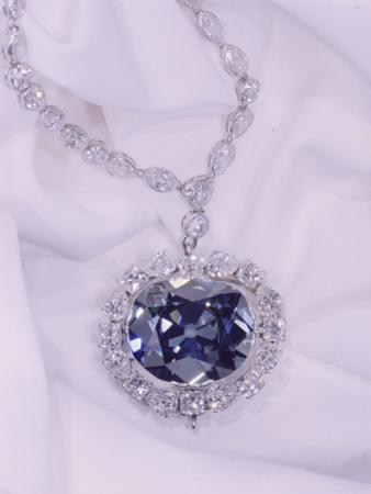 View of the Hope Diamond