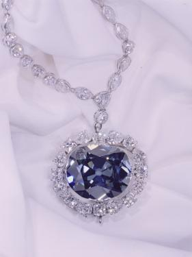 View of the Hope Diamond by Jr Boswell