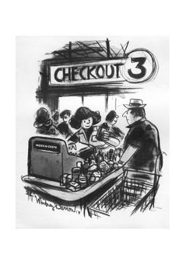 New Yorker Cartoon by Jr. Darrow