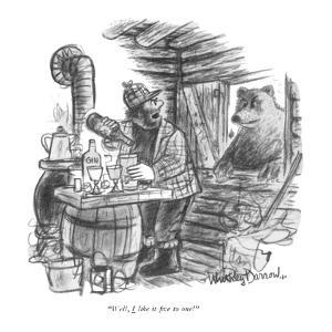 """Well, I like it five to one!"" - New Yorker Cartoon by Jr. Darrow"