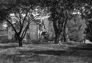 Alcott, Concord Mass Home by JR Davis