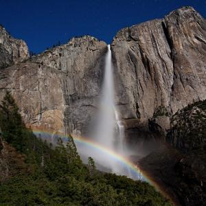Super Lunar Bow - Yosemite National Park by JTBaskinphoto