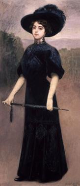 Pepita, 1908 by Juan Antonio Benlliure Gil