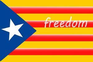 Estelada; Catalan Independence Flag by Juan Carlos B.