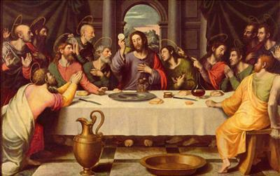 Juan de Juanes (The Last Supper) Art Poster Print